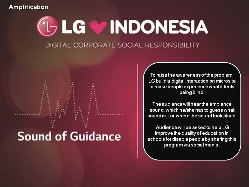 LG전자 인도네시아 법인에서 진행한 캠페인, LG Loves Indonesia의 포스터 이미지