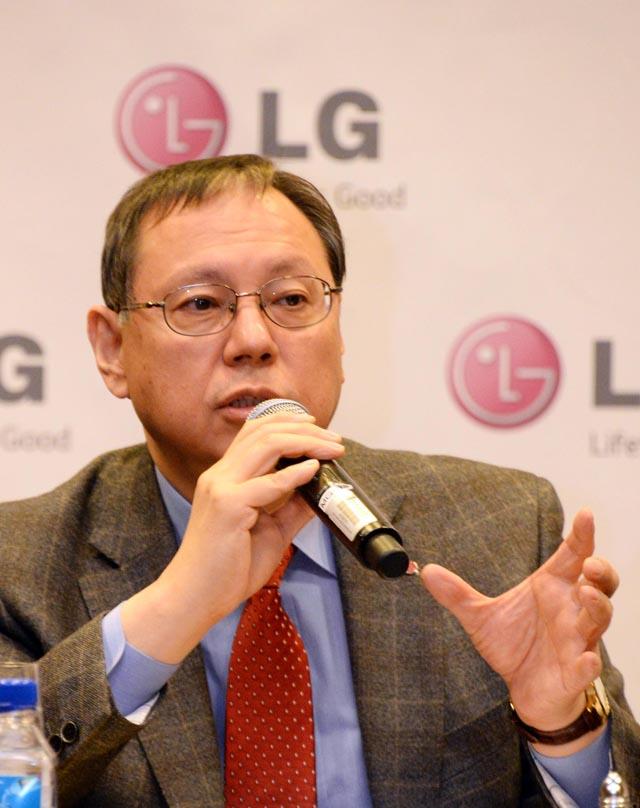 LG전자 HA사업본부장 조성진 사장 사진