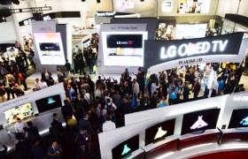 'CES 2014' 개막 현장, LG의 기대작 만져보니