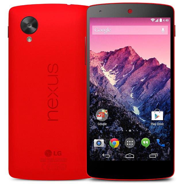 Nexus 5 (Red)