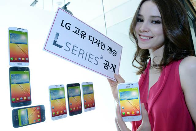 LG전자만의 고유 디자인을 계승한 3G 스마트폰 'L시리즈Ⅲ(L40, L70, L90)'