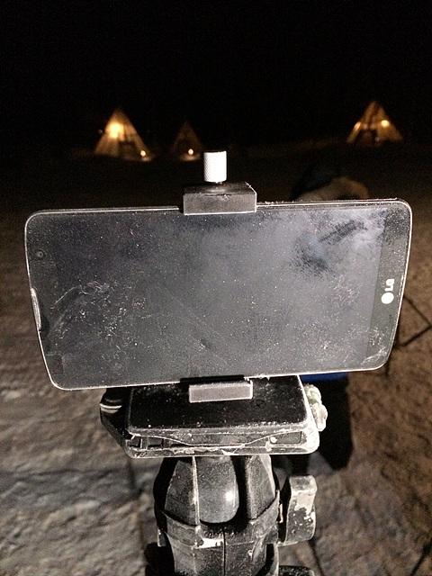 얼어붙은 G Pro2