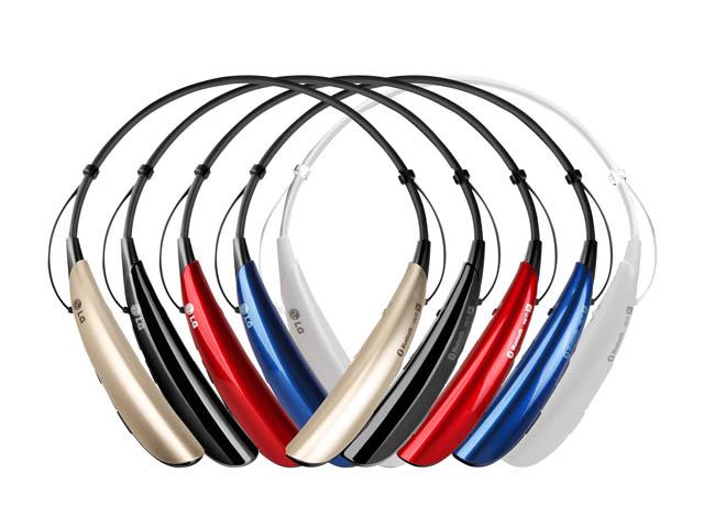 LG전자가 28일 출시한 웨어러블 블루투스 헤드셋 'LG톤플러스(HBS-750)' 제품 이미지