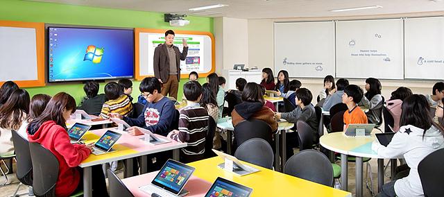 보라매초등학교의 스마트 스쿨 솔루션