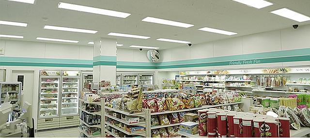 편의점 GS25에 설치된 'LED조명', '통합 에너지관리시스템'