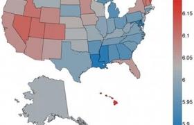 미국 373개의 도시 지역을 기반으로 한 행복도 연구