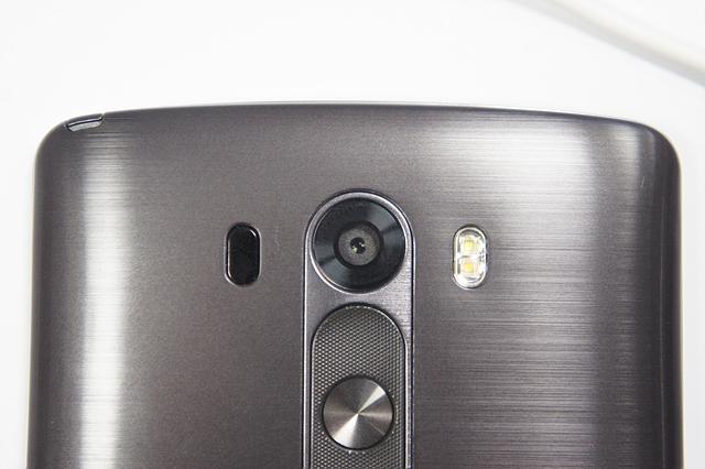 G3 후면부의 카메라