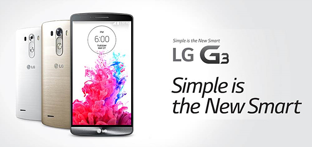 G3 대표 이미지. Simple is the New Smart