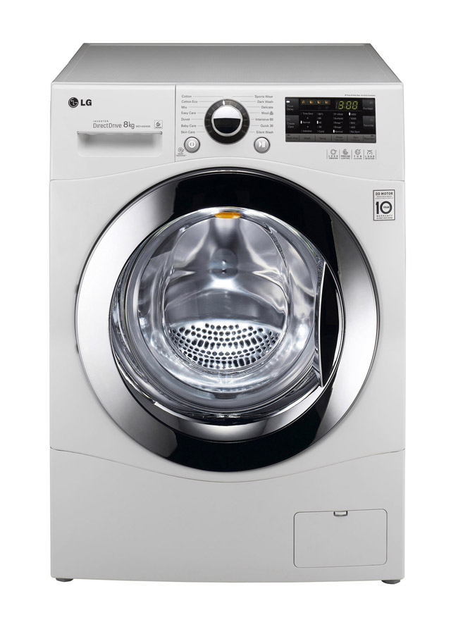 호주서 드럼세탁기 평가 1위를 차지한 LG전자 드럼세탁기 이미지 입니다.