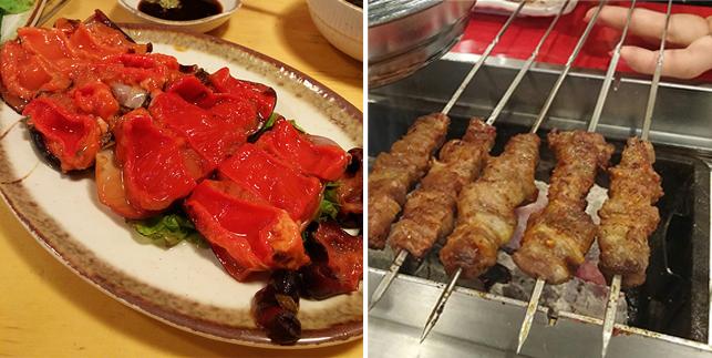 김철근 책임연구원의 여름보양음식 '멍게'과 '양꼬치'