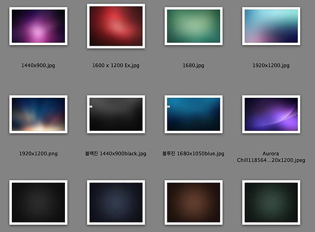 프레젠테이션 배경으로 적당한 여러 가지의 어두운 색상 이미지
