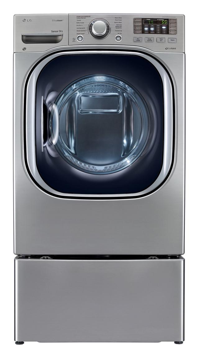 LG전자 '에코하이브리드(EcoHybrid) 건조기' 제품 이미지 입니다.