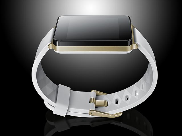 흰색 시계줄이 G 워치 제품 이미지