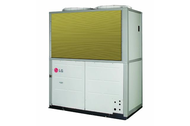 업계 최저 수준 소음 실현한 '가스히트펌프 슈퍼2' 제품 이미지 입니다.