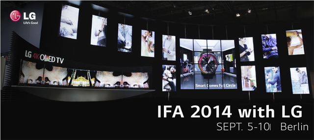 IFA 2014 LG전자 1