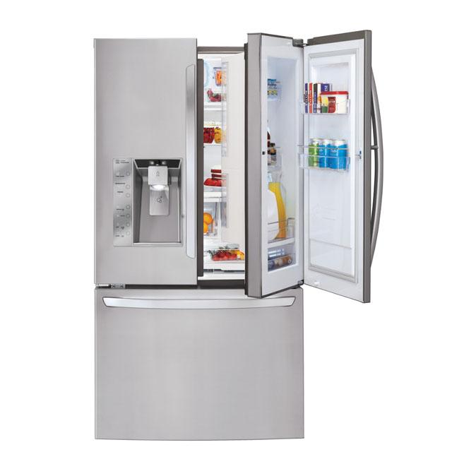 미국 바이어들로부터 최고 제품으로 선정된 LG전자 프렌치도어 냉장고 제품 이미지