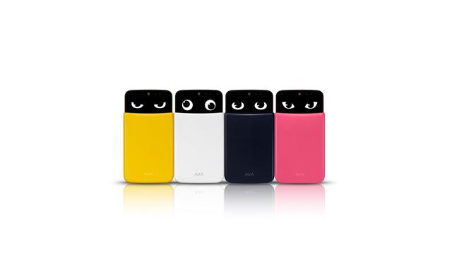 LG전자가 이달 출시한 신개념 스마트폰 '아카(AKA)' 제품 이미지 입니다.