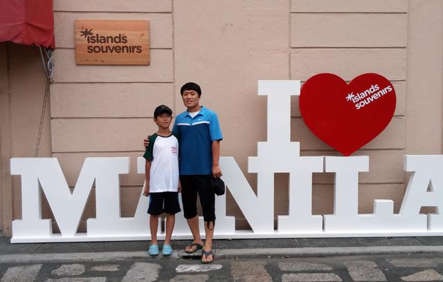 아빠와 함께하는 필리핀 영어 초단기 연수