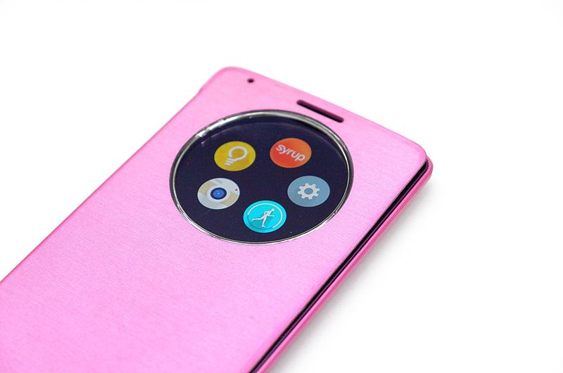 LG G3 퀵서클을 통해 자주 사용하는 앱을 지정하는 모습
