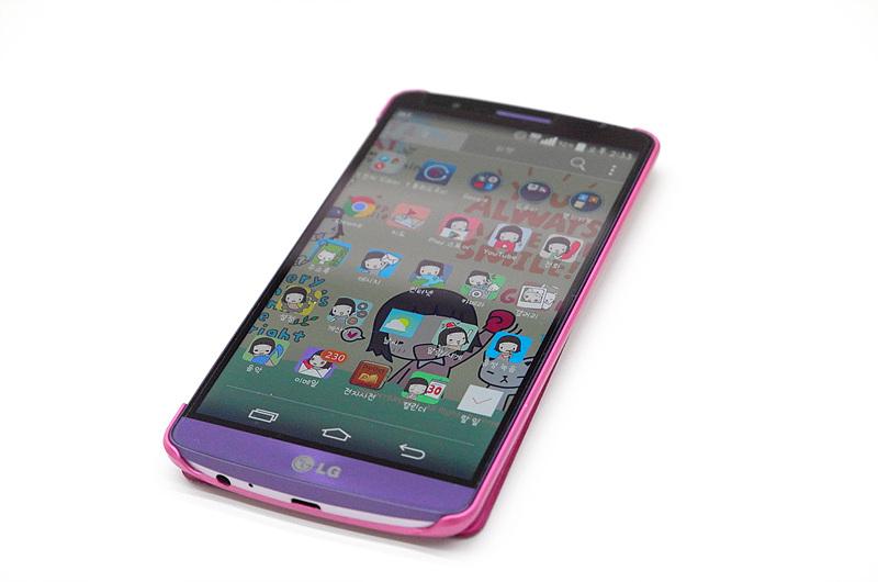 지숙이 사용하는 LG G3 모습. 다양한 어플이 설치돼 있다.