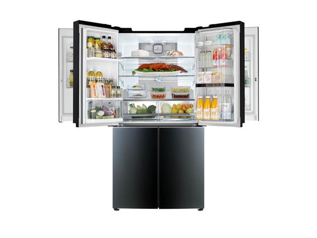 '2015 CES'에서 선보일 '더블 매직 스페이스' 냉장고 제품 사진 입니다.