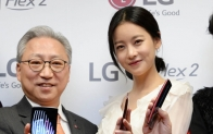 LG전자, 'LG G 플렉스2' 국내 첫 공개