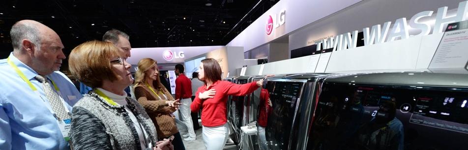 'CES 2015′ 현장에서 잭팟을 터뜨린 LG 제품은?