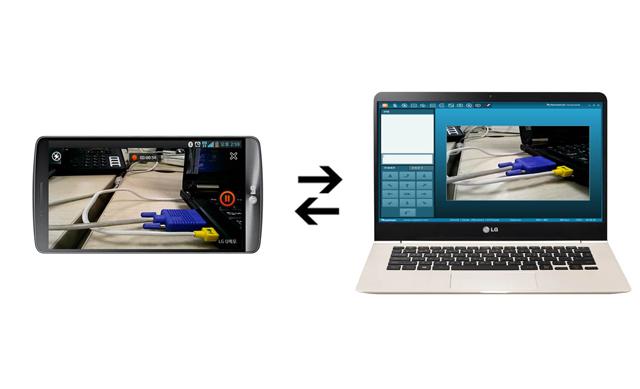 좌측 소비자 휴대폰, 우측 상담사 PC 화면 입니다.