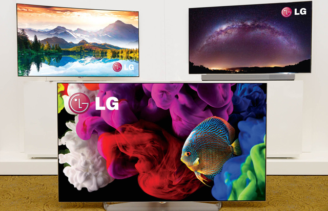 LG '울트라 올레드 TV'제품 사진 입니다.