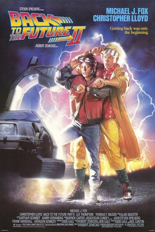 영화 '백투더퓨처2'의 포스터