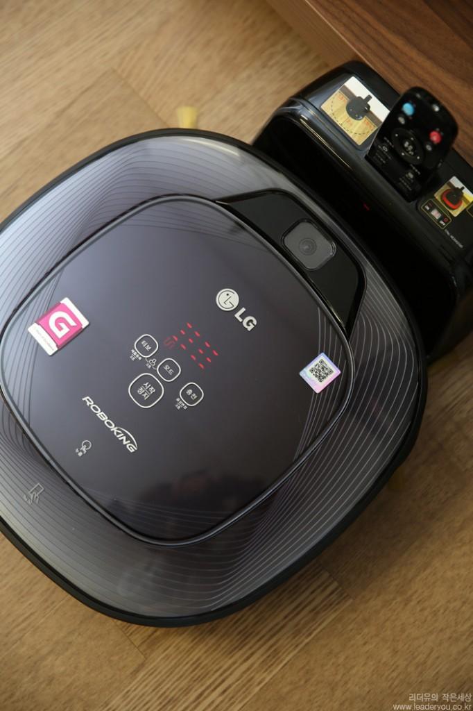 LG 로봇청소기 제품 모습