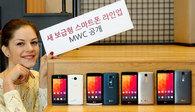 LG전자가 이번에 공개하는 제품은 'LG 마그나(LG Magna)', 'LG 스피릿(LG Spirit)', 'LG 레온(LG Leon)', 'LG 조이(LG Joy)' 이미지 입니다.