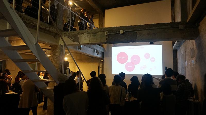 2015년 1분기 Airbnb SuperHost Party, 에어비앤비코리아 측 PT에 집중하고 있는 슈퍼호스트들