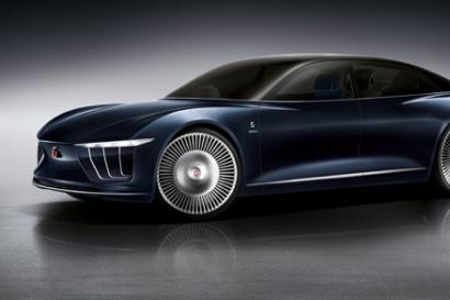폭스바겐 그룹의 디자인하우스 '이탈디자인'이 LG전자와 기술 협업을 통해 '제네바 모터쇼'서 선보인 자율주행 콘셉트카 '제아' 입니다.