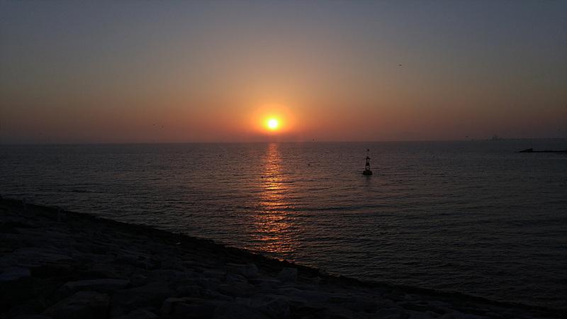 G4로 찍은 바닷가 사진