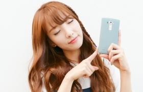 레인보우 '지숙'의 매력 넘치는 'LG G4' 셀카팁