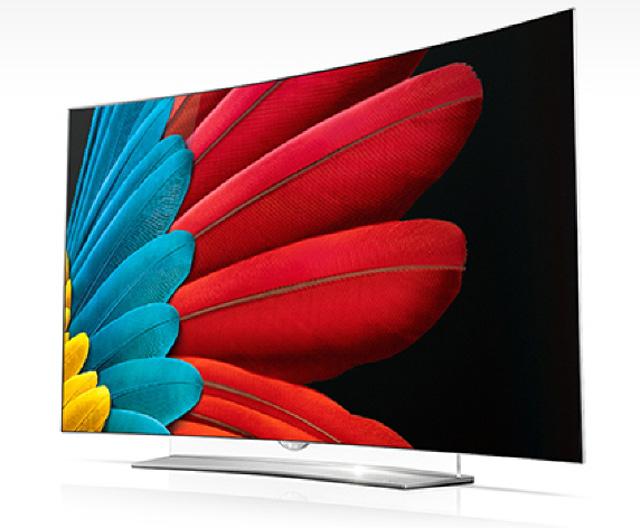 65형 LG 울트라 올레드 TV 제품사진 입니다.