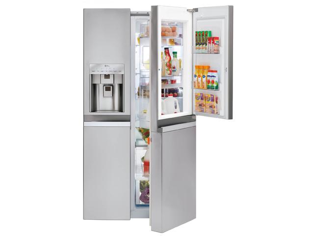 금상을 수상한 LG 양문형 냉장고 제품 이미지 입니다.