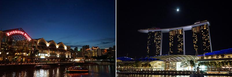 싱가폴의 야경