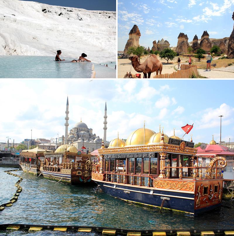 터키의 다채로운 모습들
