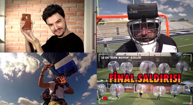 왼쪽 상단부터 시계방향으로 브라질 펠리페네토, 미국 듀드퍼펙트, 터키 오하디요룸, 미국 알렉스샤콘의 유튜브 영상을 각각 캡쳐한 이미지 입니다.