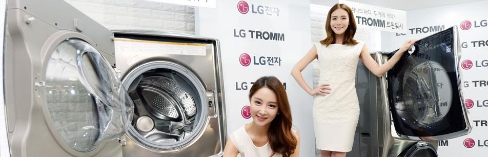LG전자, '트롬 트윈워시'로 새로운 세탁문화 선도