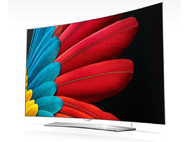 사진은 65형 LG 울트라 올레드 TV 제품사진 입니다.