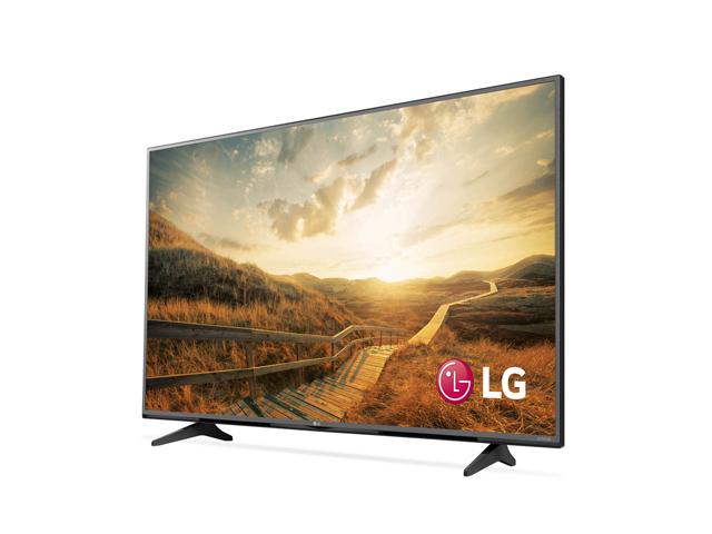 에너지 효율 1등급을 받은 LG 울트라HD TV(UF6800) 제품 사진입니다.