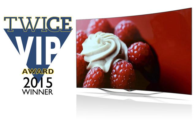 55형 올레드 TV(55EC9300) 제품 이미지 입니다.