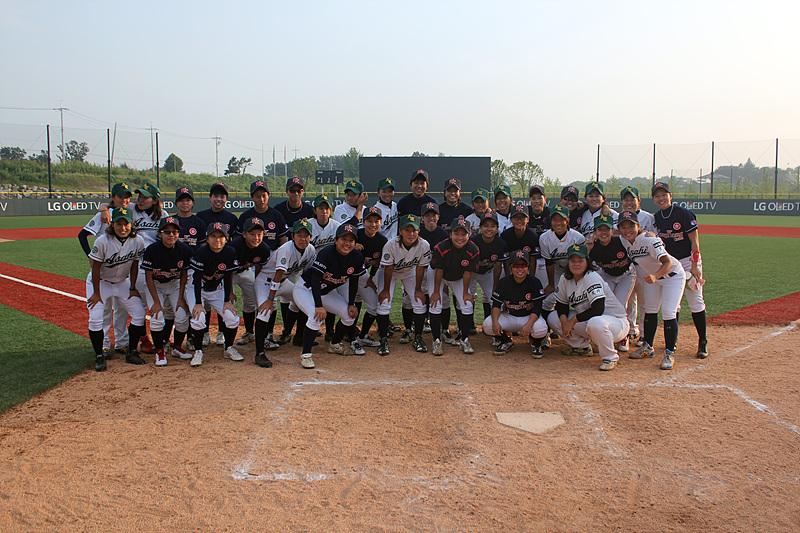 선수들 단체사진