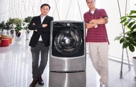 HA디자인연구소 전호일 수석, 세탁기사업부 김현석 책임