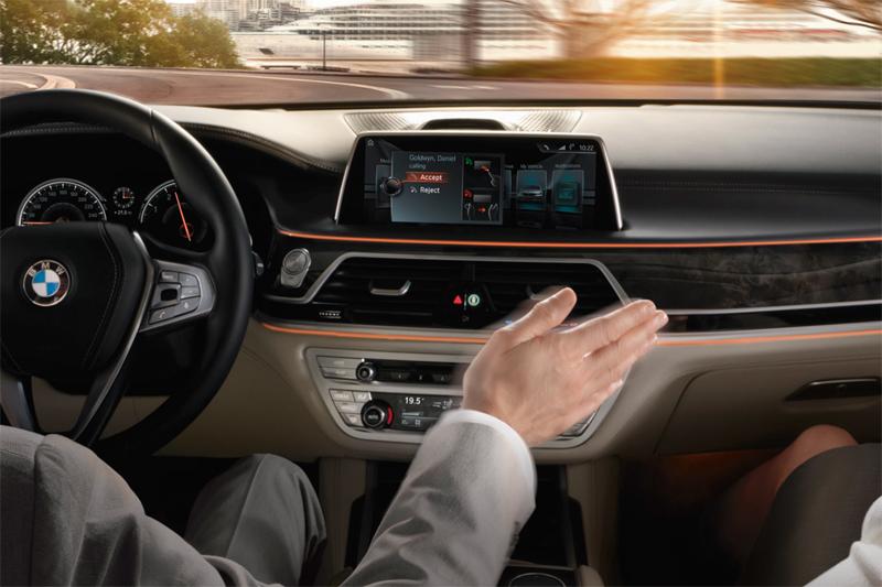 BMW 7시리즈 동작인식 컨트롤