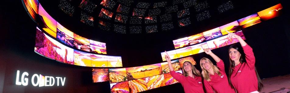 'IFA 2015' 현장에서 더욱 생생한 올레드TV를 만나다!