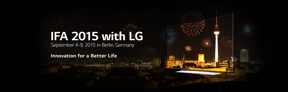 IFA 2015 With LG